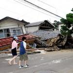 Очередное землетрясение в Японии