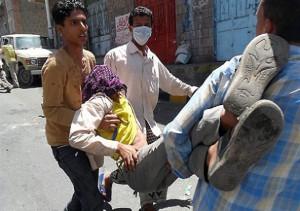 Krovavyj razgon demonstracii v Jemene