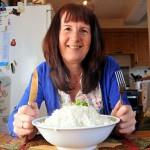 Женщина с пищевой аллергией 12 лет ест только рис