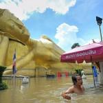Бангкок может полностью уйти под воду