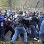 В Москве произошла очередная потасовка подростков с летальных исходом