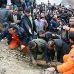 В Турции продолжаются поисковые работы. Спасены более 20 человек