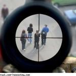 Пьяный мужчина стрелял в людей и охотничьего ружья
