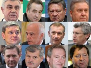 Srazu 12 gubernatorov popali v spiski dvoechnikov