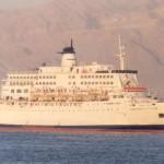 В Красном море загорелся паром, на борту которого находятся более тысячи человек