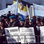 Бесполезные попытки властей остановить народ идти на митинг