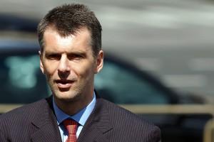 Prohorov budet ballotirovat'sja v Prezidenty