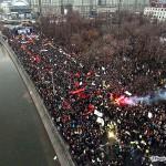 Самый крупномасштабный митинг за последние 10 лет прошел по всей России