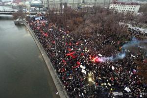 Samyj krupnomasshtabnyj miting za poslednie 10 let proshel po vsej Rossii