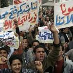 Армия египетских студентов устраивает акцию неповиновения