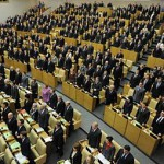 Единороссы пытались призвать людей объединиться против революции