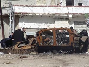 Sirijskie vlasti vozobnovili obstrel Homsa