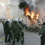 В Греции более 100 тысяч человек приняли участие в антиправительственной демонстарции