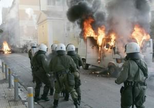 V Grecii bolee 100 tysjach chelovek prinjali uchastie v antipravitel'stvennoj demonstarcii