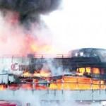 Женщина спасла 6 детей из пожара в торговом центре