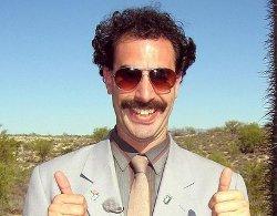 Gimn Kazahstana sputali s gimnom iz fil'ma Borat