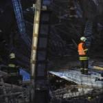 В Москве рухнуло здание. 1 человек погиб