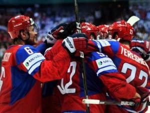 Rossija vyigrala chempionat mira po hokkeju