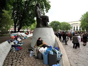 Sud objazal mjeriju Moskvy ubrat' lager' oppozicii s Chistyh prudov