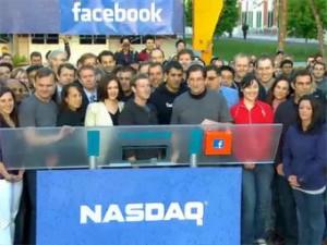 V pervye minuty torgov akcii Facebook podskochili na 13