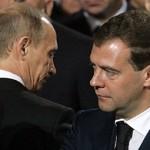 Путин поручил Медведеву отчитать двух министров России