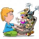 Английские дети подвергаются оскорблениям и угрозам в интернет сетях