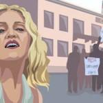 Мадонну обвинили в спланированной акции против России