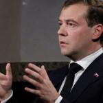 Интервью Медведева в Давосе