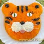 Салат «Настоящий тигр»