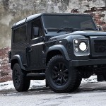 Представлена утилитарная версия Land Rover Defender.