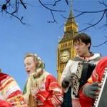Праздник масленицы в Лондоне