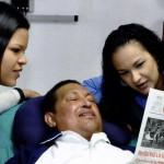 Уго Чавес после пребывания в кубинской клинике вернулся на родину