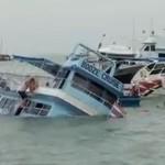 В порту Чалонга затонул катер с российскими туристами на борту