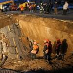 Из-за обвала грунта при строительстве метро в Москве пострадал человек