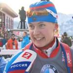 Гонка преследования у женщин, проходящая в Ханты-Мансийске, стала успешной для Ольги Вилухиной
