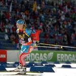 В Сочи в женском биатлонном спринте россиянки не смогли порадовать болельщиков