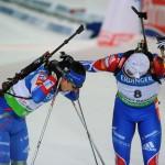 На сочинском биатлонном этапе Кубка мира Евгений Устюгов взял серебро