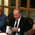 Владимир Путин посетил «родовое гнездо» семьи Михалковых