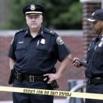 Во время задержания американские полицейские убили преступника