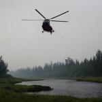 В Иркутской области разбился самолет «Ми-8» с двумя тоннами взрывчатки на борту