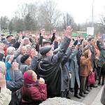 Проведение митинга оппозиции в Ужгороде попадает под угрозу