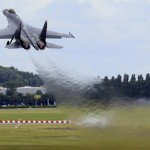 Многоцелевой истребитель «Су-35С» произвел настоящий фурор в «Ле Бурже»