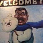 В Перми разгорелся скандал с картинами Василия Слонова на тему Олимпийских игр
