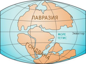 Геологи о суперконтиненте Гондвана – объединенные Австралия, Антарктика и Индостан