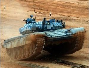 В подмосковном Алабино был завершен международный этап самых первых Всеармейских соревнований по танковому биатлону