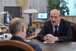 Рамазан Абдулатипов поведал Владимиру Путину о преобразованиях, происходящих в республике