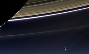 Фото Земли от Меркурия и Сатурна