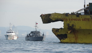 16 августа паром Thomas Aquinas столкнулся с грузовым лайнером Sulpicio Express 7