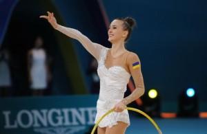 Для украинской чемпионки русский гимн
