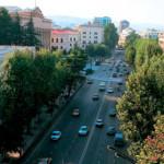 Жители Тбилиси протестуют против названия Московского проспекта